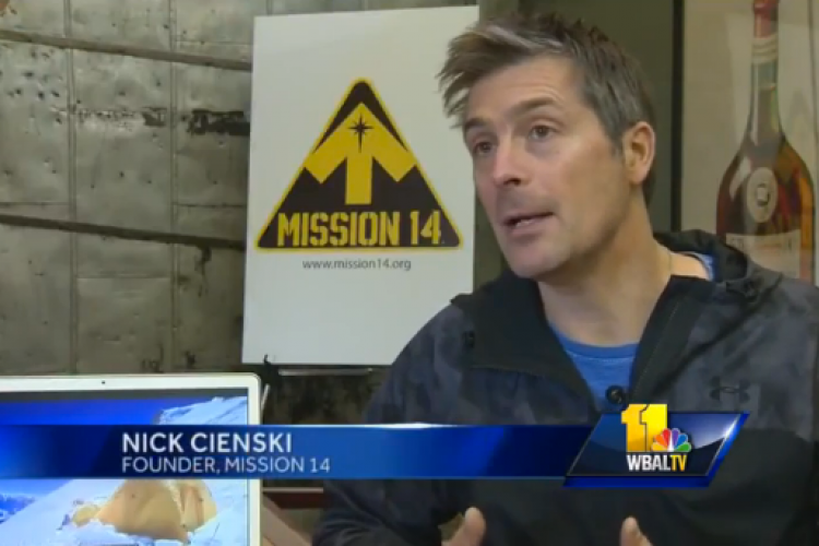 Interview with WBAL-TV 11 News Baltimore - Mission 14 Raises Awareness for Human Trafficking